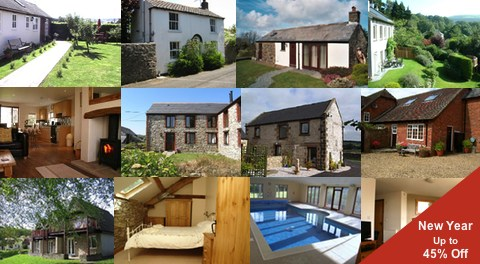 Holiday cottages available New Year 2013
