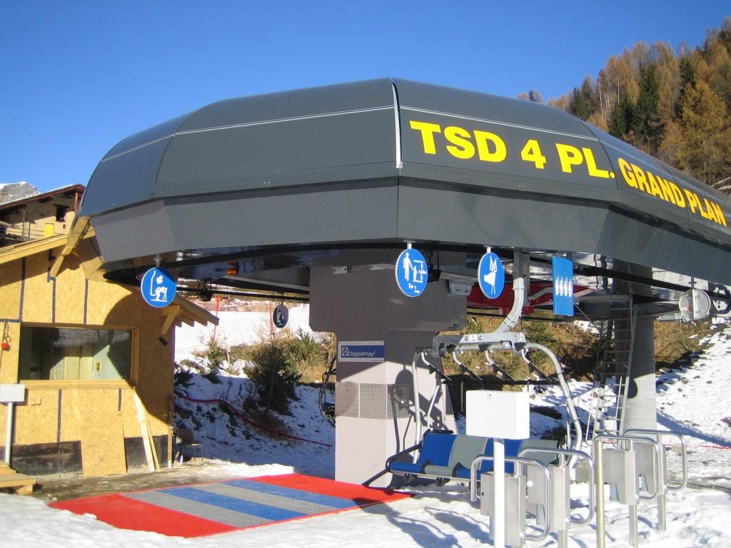 Free Skiing Sainte Foy