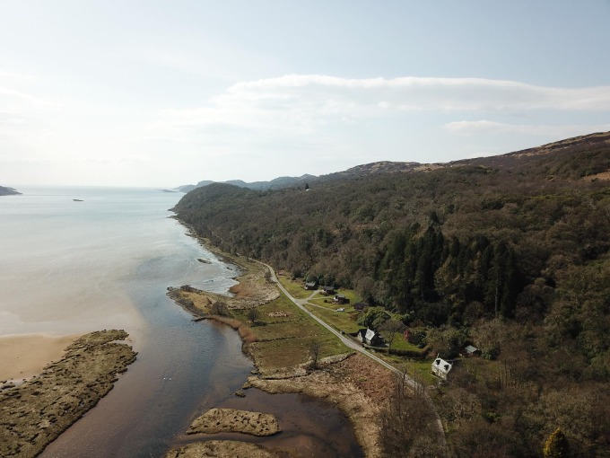 Ellary & Castle Sween Chalets, Ellary, Lochgilphead, Argyll, Scotland, West Highlands, Scotland