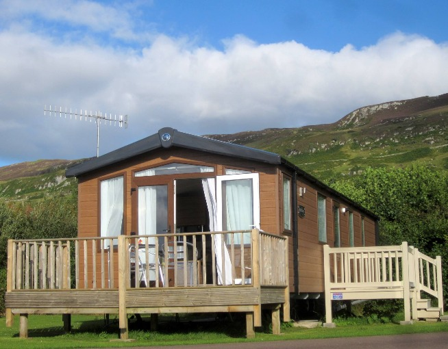 Loch View Holiday Homes, Castle Sween Holiday Park, Ellary, Lochgilphead, Argyll, Scotland, West Highlands, Scotland