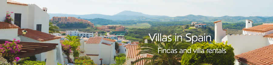 Spanish Self Catering Holiday Rentals Accommodation Villas Spain