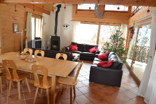 Morillon Self catering chalets,Chalet Le Cochon Noir , Morillon, Grand Massif, French Alps, France