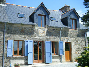 Holiday cottage Brittany - Le Petit Camus, Plemet, Cotes-d'armor, Brittany Sleeps 4 people