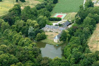 Plessix-meen Manor, In Pluduno, Cotes D'armor, North Brittany, France