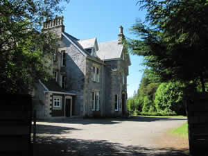 Glencarron Shooting Lodge, Glencarron Estate, Wester Ross, Scottish Highlands, Scotland